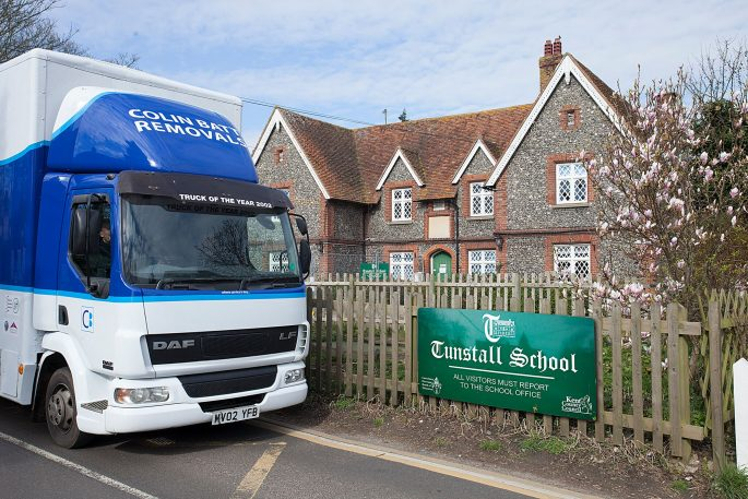 School Move Sittingborne Kent