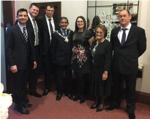 Mayor of Ashford meets Colin Batt Removals