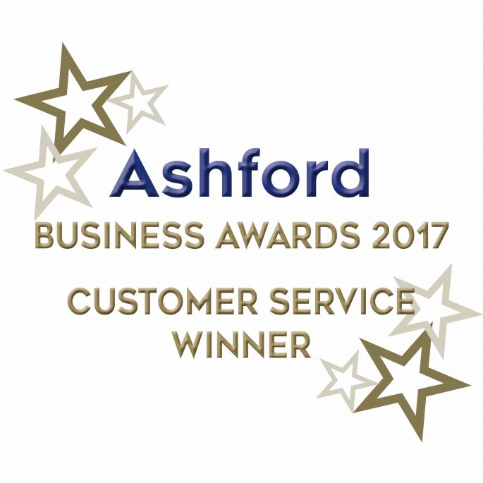 House Removal Customer Service Award Ashford 2017 Logo