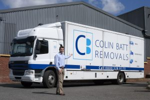 Colin Batt Removals Store and Lorry|Faversham