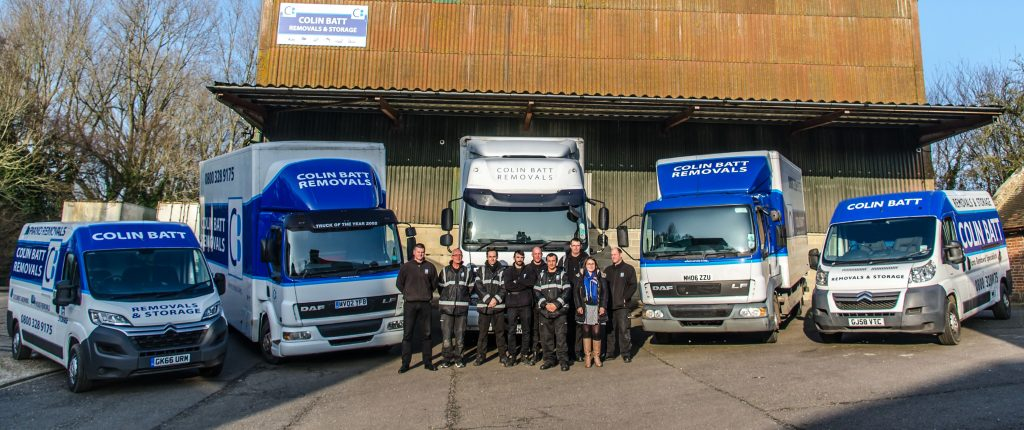 Colin Batt Removals and Storage Team Ashford