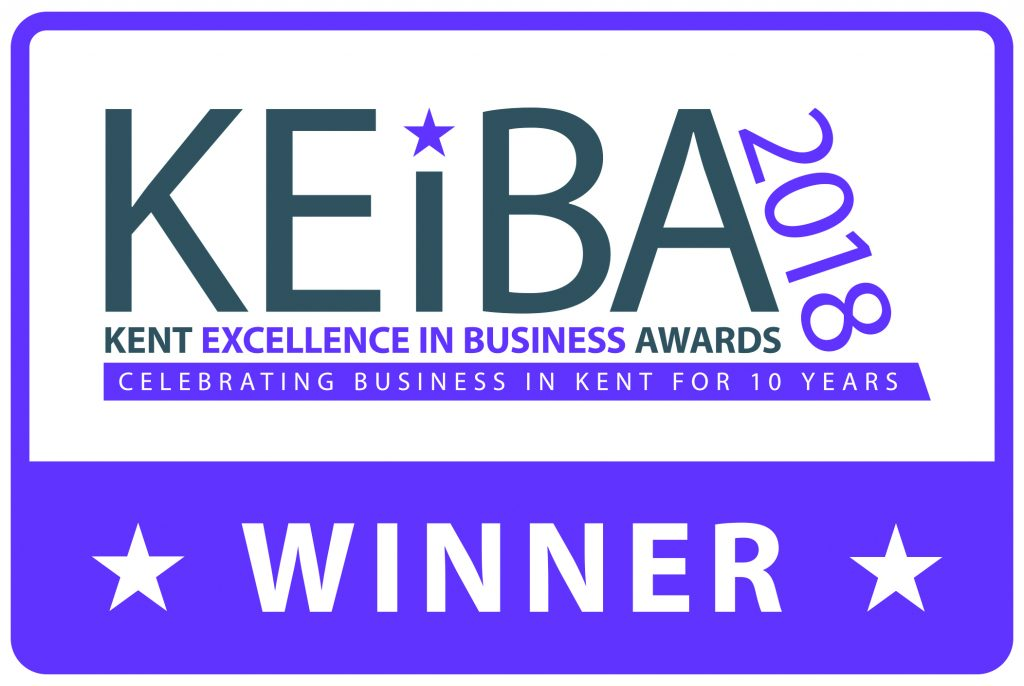 Kent Excellence in Business Awards Customer Service Winners Logo-KEiBA 2018